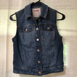 Mossimo jean tank top jacket